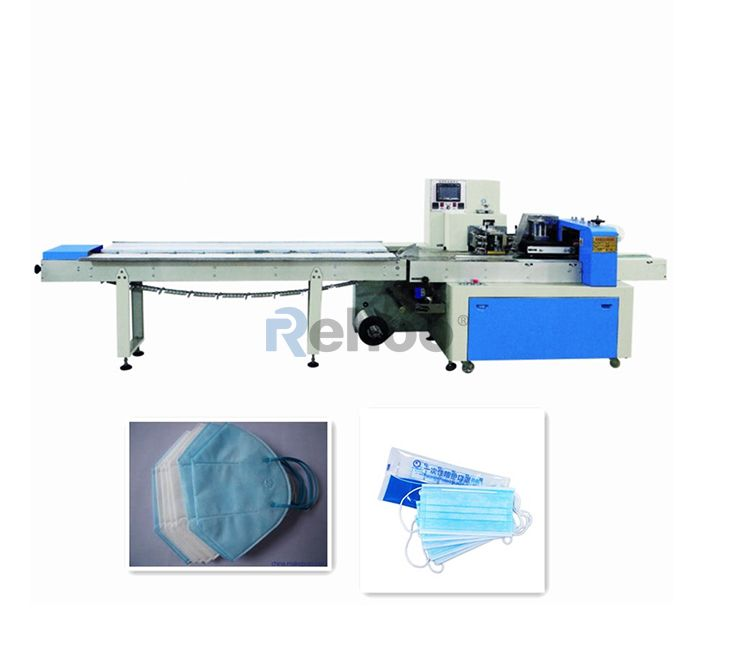 Automatic Horizontal Flow pillow-type packing machine RFC-350