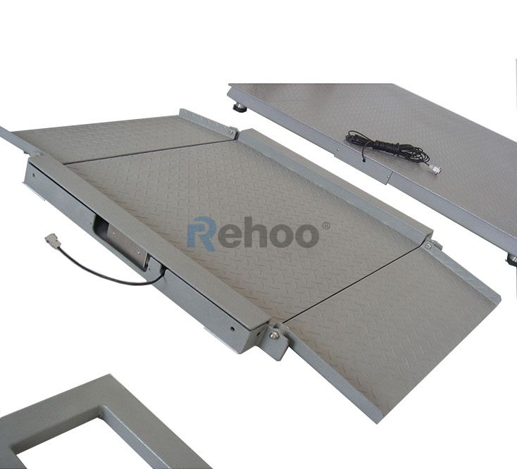CWC-FS02 Low Profile Industrial Floor Platform Scale