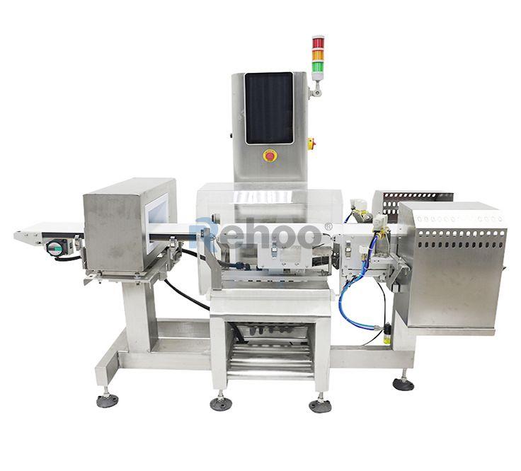 Metal Detector & Check Weigher Combo Machine
